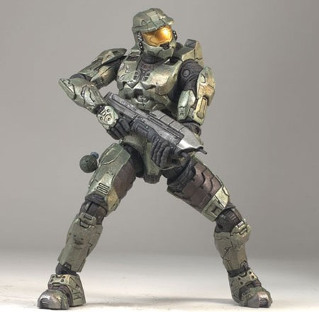 Halo's Master Chief from McFarlane Toys