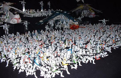 Star Wars Clone Army This has got to be one of the largest collections of