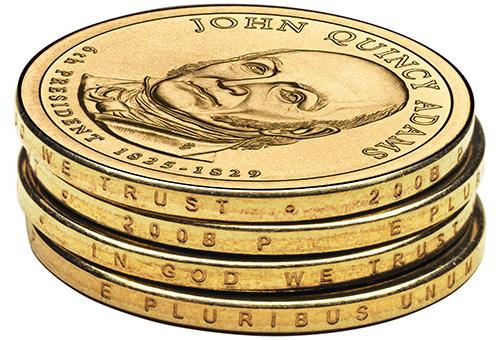 Presidential Dollar Error Coins