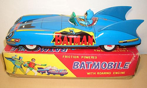 Vintage Tin Batmobile