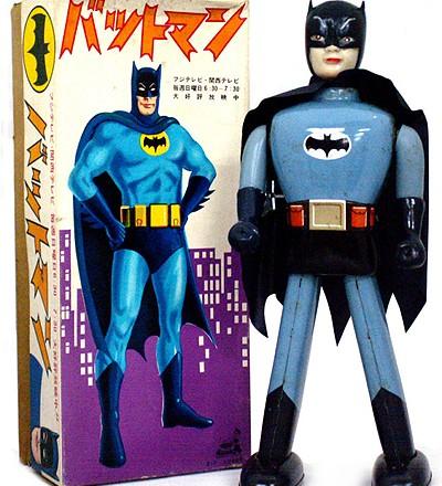 Japanese Batman Windup Figure