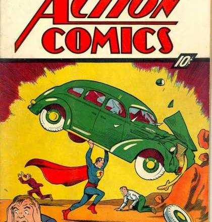 Action Comics #1 Sells for $317,200