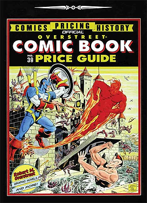 Overstreet Comic Book Price Guide Coming Soon