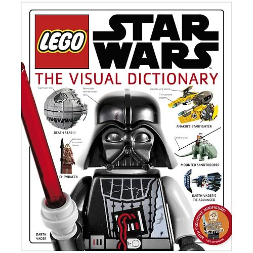 It's a comprehensive visual guide to the LEGO Star Wars universe.