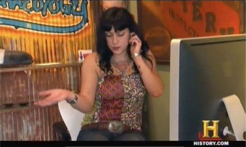American Pickers Danielle Colby Cushman and her tattoos