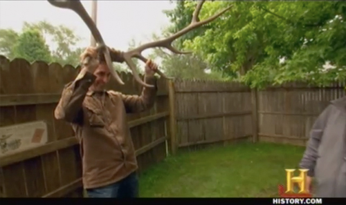 american pickers hobo jack Elk Horns