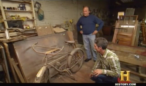 american pickers hobo jack Excelsior bicycle