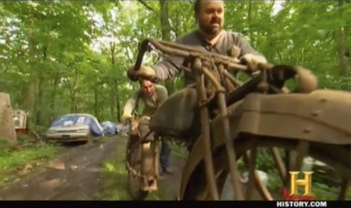 american pickers hobo jack motorcycle