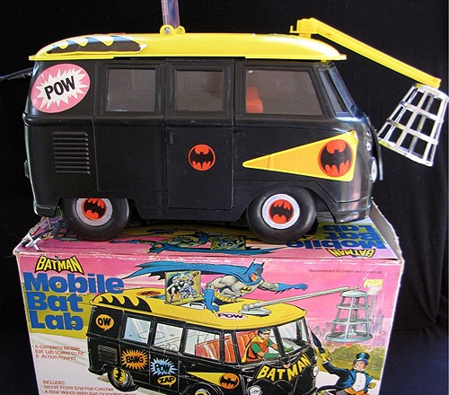 Vintage Mego Batman Mobile Bat Lab – It's a Vanagon!