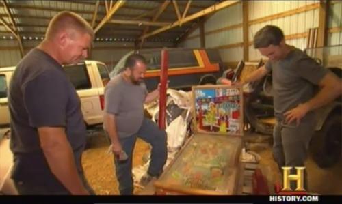 american pickers pinball machine