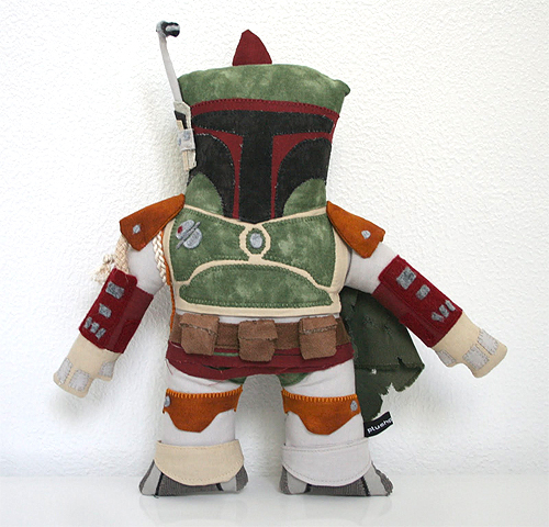 Star Wars boba fett plush doll