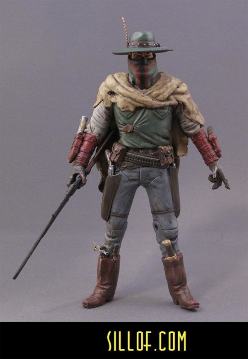 boba fett star wars western action figure