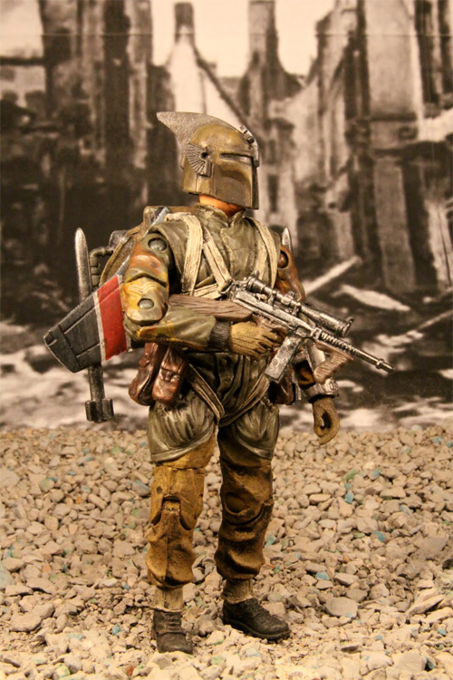 boba fett WWII custom action figure