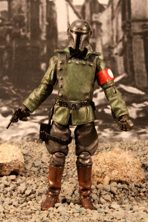 boba fett WWII action figure - Star Wars