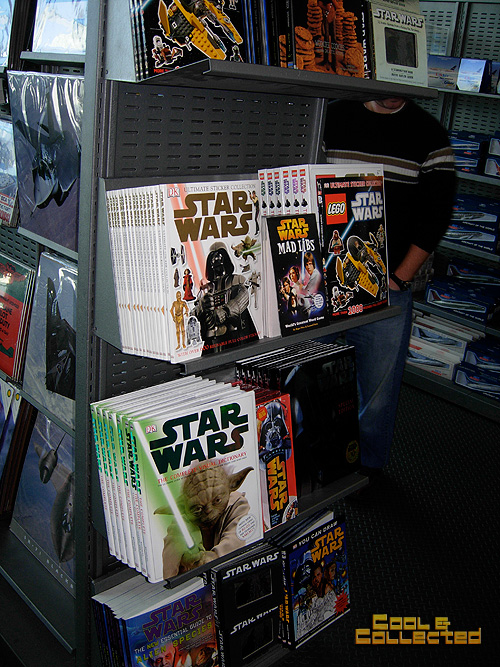 Smithsonian air and space museum - star wars books