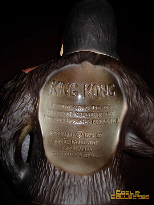 king kong jim beam dino delaurentiis decanter