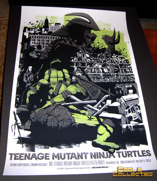 Mondo Teenage Mutant Ninja (TMNT) poster