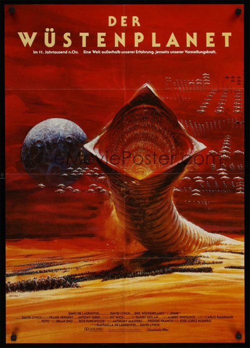 German Dune Poster