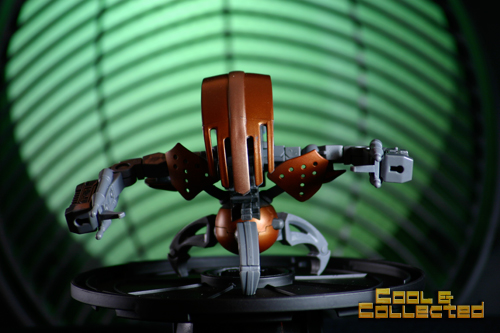 action figure photography tips - green lighting