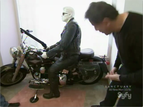 Syfy Hollywood Treasure -- Terminator motorcycle prop