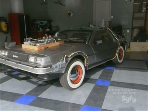 Syfy Hollywood Treasure -- Back to the Future 3 DeLorean