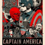 captain america movie poster mondo tyler stout