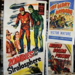 dc big flea - movie posters - zombies of the stratosphere