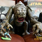 garage sale score - Star Wars Jabba's rancor beast