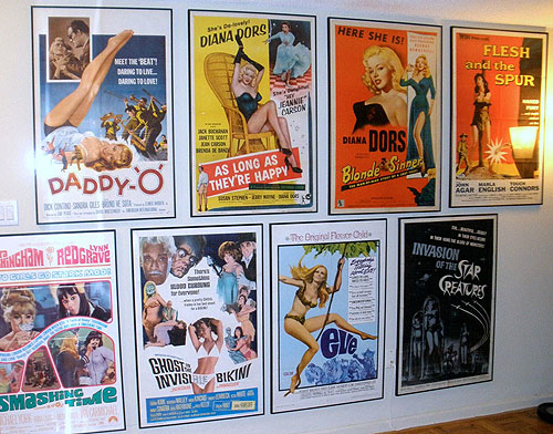 Movie poster collector cards