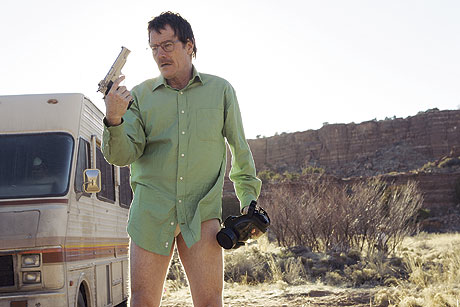 breaking bad walt in the desert