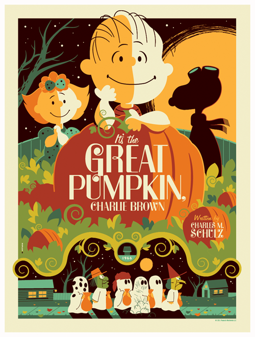 """Countdown to Halloween — """"It's the Great Pumpkin, Charlie Brown ..."""