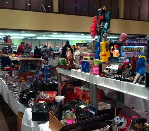 The ToyMan Toy Show in St. Louis, Missouri
