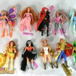 collection of vintage she-ra action figures (He-Man Masters of the Universe-MOTU)