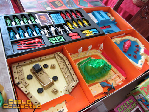 Vintage James Bond toy collection - agent m game