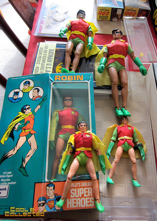 vintage mego Robin action figure collection