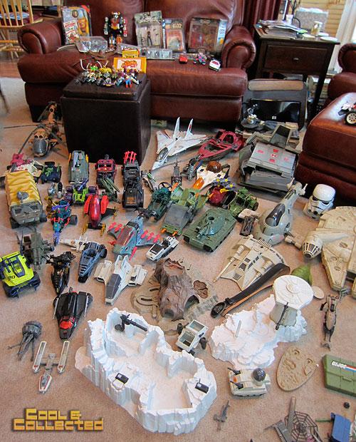 Star Wars 80s Toys : Gi joe and star wars toy haul