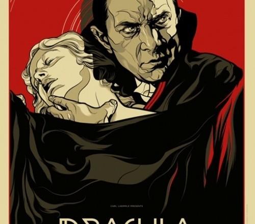 Mondo Dracula Poster by Martin Ansin