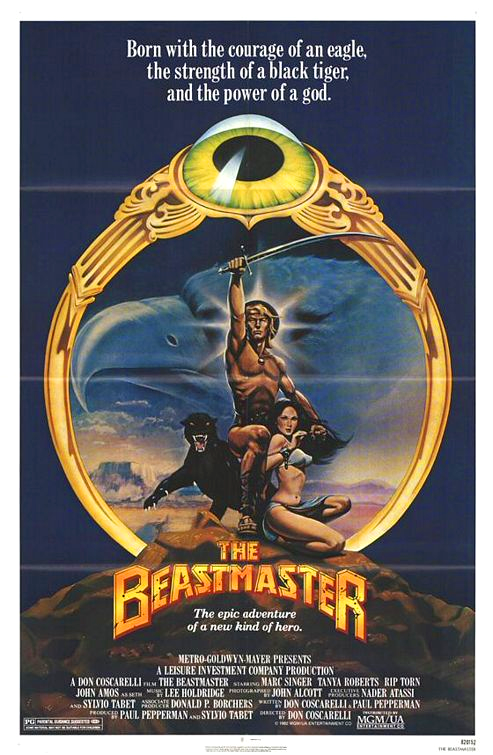 beastmaster poster