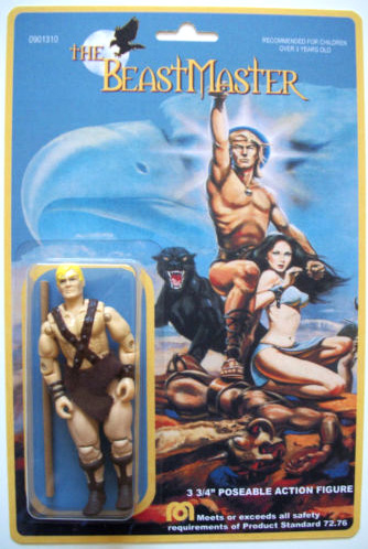 custom action figure: Dar from Beastmaster