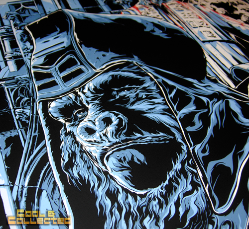 Mondo Beneath the Planet of the Apes poster by Ken Taylor