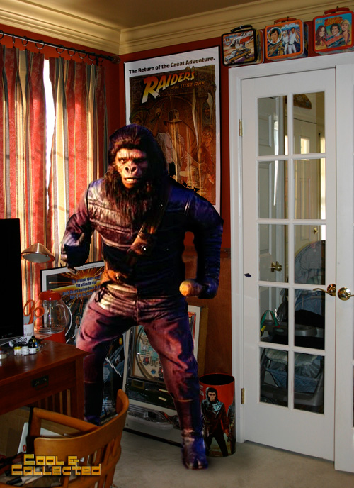 planet of the apes soldier ape prop