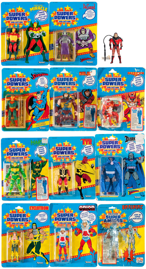 hakes DC super powers kenner action figures collection