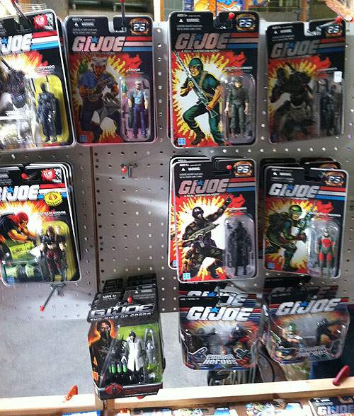 rochester toy show gi joe action figures