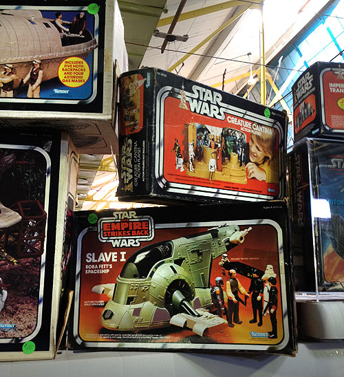 rochester toy show star wars vehicles