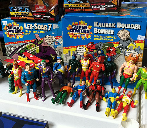 rochester toy show super powers action figures