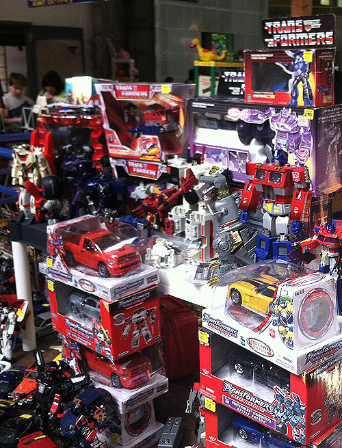 rochester toy show transformers