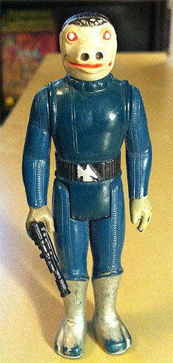 blue snaggletooth - Rare Star Wars action figure
