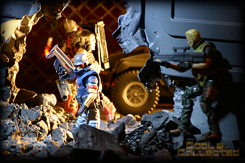 G.I. Joe action figure photos Cobra Troopers