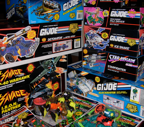 G.I. Joe toy haul from the Big Toy Auction