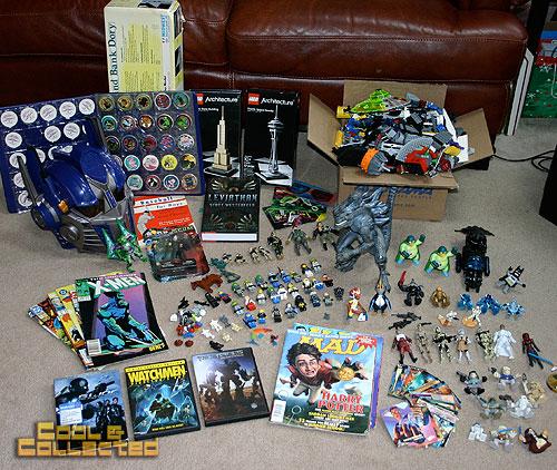 Church Rummage Sales This Weekend: Godzilla And Legos